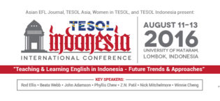 The TESOL Indonesia 2016 Conference